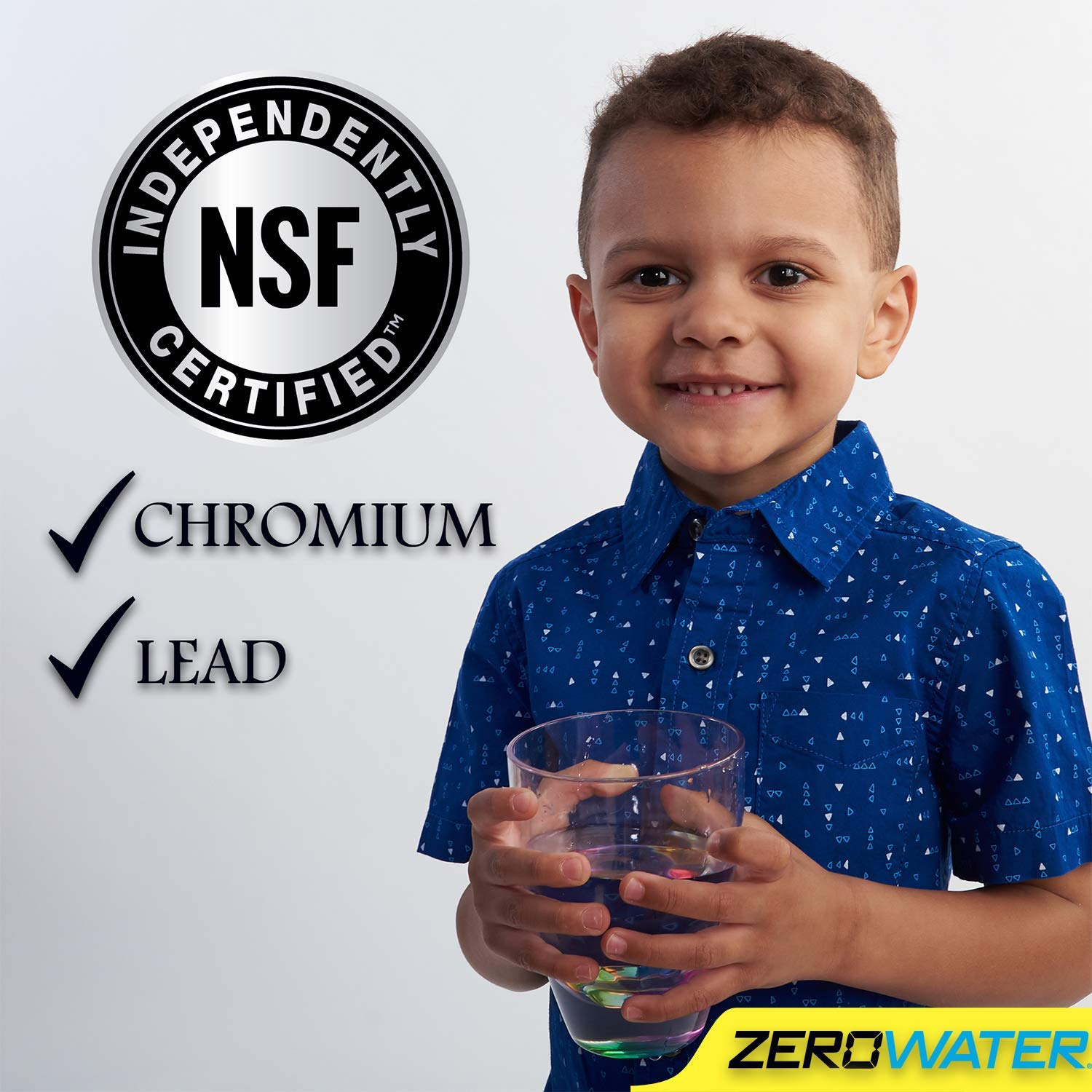 NSF Certified ZeroWater 23 Cup Pitcher with Free Water Quality Meter BPA-Free