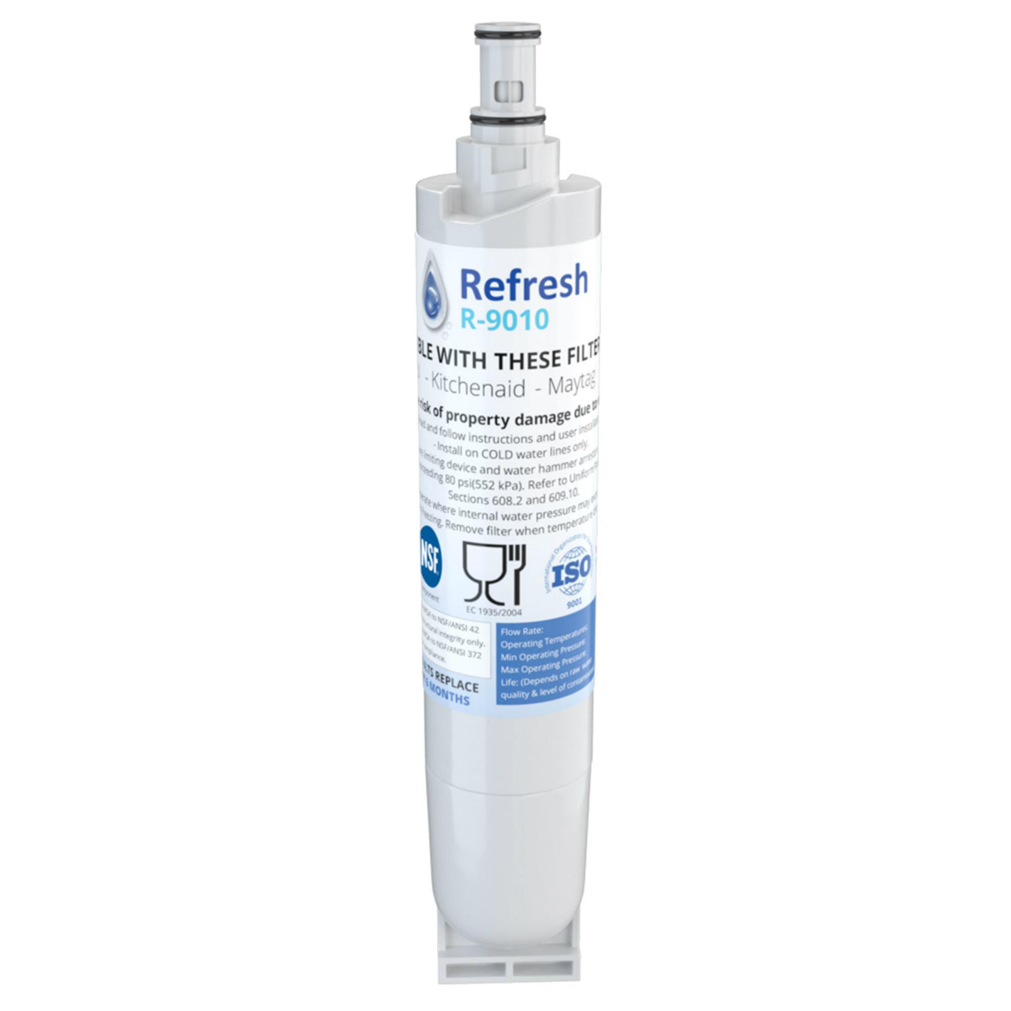 Fits Whirlpool ED5GHEXNL02 Refrigerators Aqua Fresh Replacement Water Filter